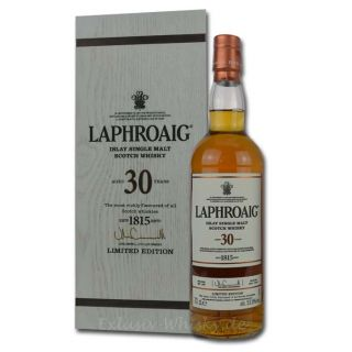 Laphroaig 30 Jahre Single Malt Whisky 0,7L 53,5%